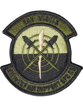 817th Exp Air Suppt Ops Sq Scorpion Patch with Fastener