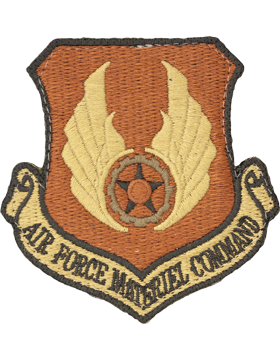 USAF Patch Air Force Materiel Command with Fastener