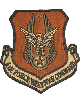 Air Force Reserve Command Scorpion Patch with Fastener