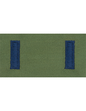 Air Force Subdued Sew-on Rank First Lieutenant