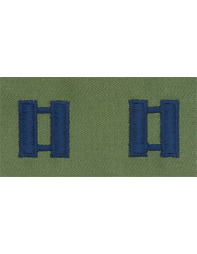 Air Force Subdued Sew-on Rank Captain