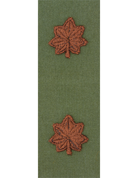Air Force Subdued Sew-on Rank Major
