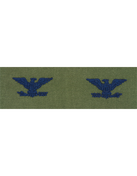 Air Force Subdued Sew-on Rank Colonel