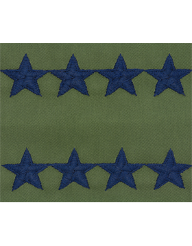 Air Force Subdued Sew-on Rank General (Point to Point)