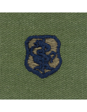 Air Force Subdued Sew-on Badge Physician