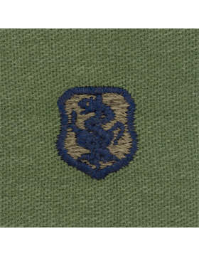 Air Force Subdued Sew-on Badge Nurse