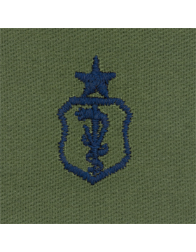 Air Force Subdued Sew-on Badge Veterinarian