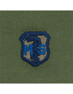 Air Force Subdued Sew-on Badge Medical Services