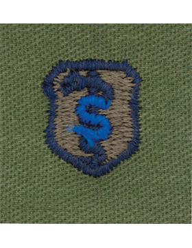 Air Force Subdued Sew-on Badge Bio-Medical Science