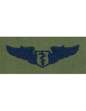Air Force Subdued Sew-on Badge Flight Surgeon