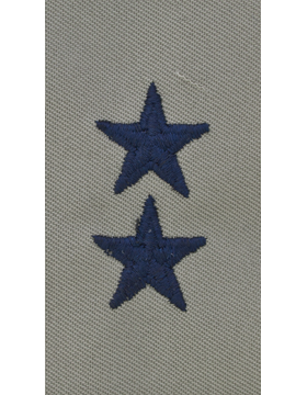Major General (Point to Center) USAF Sew-On ABU