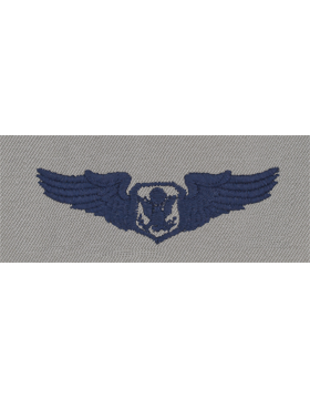 Air Force ABU Sew-on Badge Non-Rated Officer Aircrew