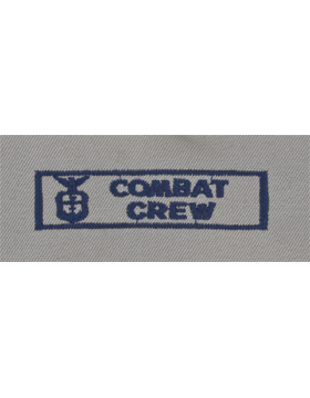 Air Force ABU Sew-on Badge Combat Crew