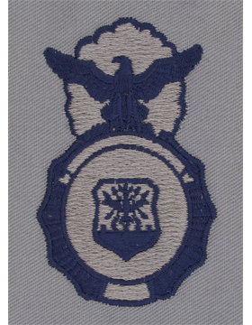 Air Force ABU Sew-on Security Police Badge
