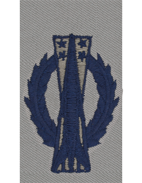Air Force ABU Sew-on Badge Missile Operator