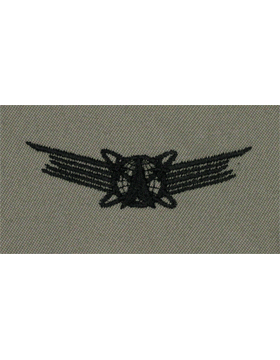 Basic Space Operations USAF Sew-On ABU