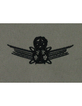 Master Space Operations USAF Sew-On ABU