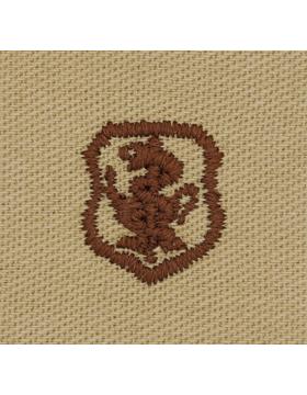 Air Force Desert Sew-on Badge Nurse