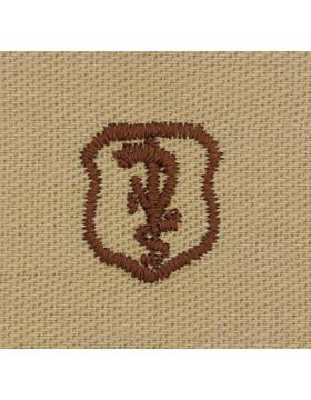 Air Force Desert Sew-on Badge Veterinarian