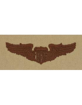 Air Force Desert Sew-on Badge Pilot