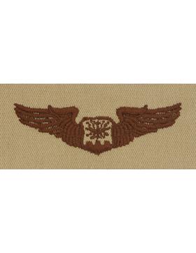 Air Force Desert Sew-on Badge Navigator Observer