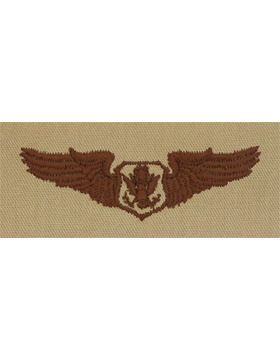 Air Force Desert Sew-on Badge Non-Rated Officer Aircrew