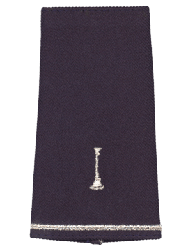 USAF Shoulder Marks Blue with One Bugle (Pair)