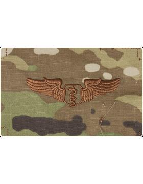 Air Force Scorpion Sew-on Badge Flight Surgeon