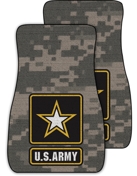 US Army Star, Auto Mats, Set of 2
