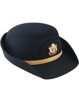 Army Blue Female Service Cap Company Grade