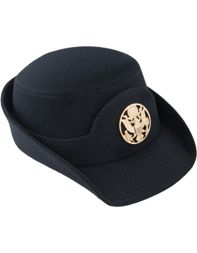 Army Blue Female Service Cap Enlisted