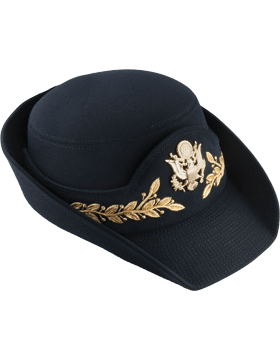 Army Blue Female Service Cap Field Grade