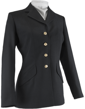 Female Army Dress Blue Officer Coat Polyester Material
