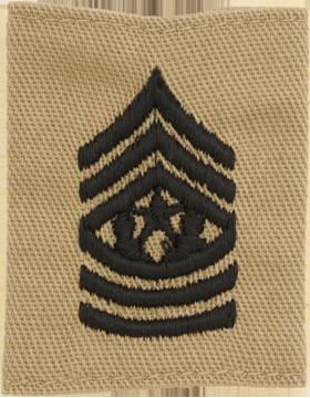 Gortex Loop Desert Cmd Sgt Major (AR-GL211)