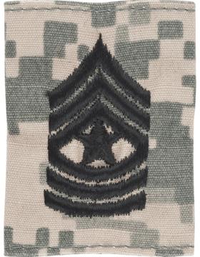 Gortex Loop ACU Sgt Major (AR-GL310)