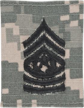 Gortex Loop ACU Cmd Sgt Major (AR-GL311)