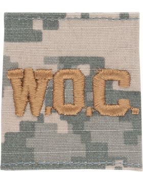 WOC ACU Gortex Loop with  Gold Lettering (AR-GL328-G)