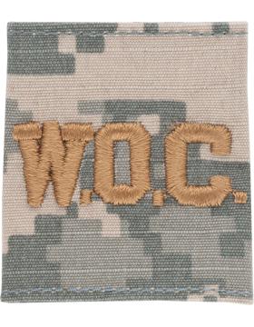 WOC ACU Gortex Loop w/ Gold Lettering (AR-GL328-G)