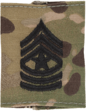 Gortex Loop Scorpion Sgt Major E-9 (AR-GL410)