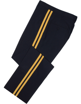 Male General Officer ASU Trousers, Elastique