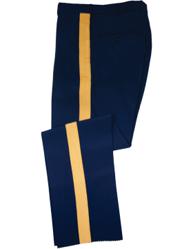 Male NCO/Officer ASU Trousers, Elastique