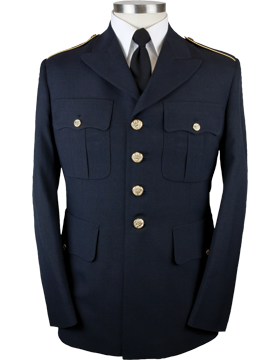 Army Dress Blue Male Enlisted Coat