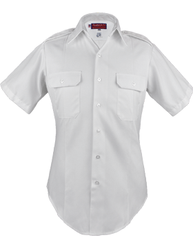 Male Army White Short Sleeve Duty Shirt