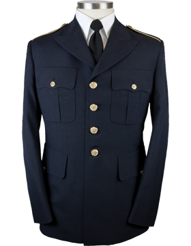 Army Dress Blue Male Enlisted Colonial™ Coat