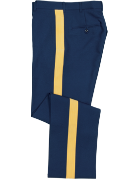 Army Dress Blue NCO/Officer Male Colonial™ Trousers