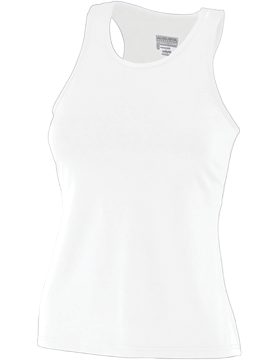 Girls Solid Racerback Tank 1203