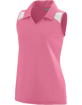 Girls Match Jersey 1231 Pink/White