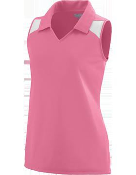 Girls Match Jersey 1231 Pink/White