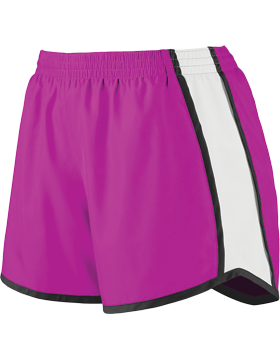 Girls Pulse Team Short 1266 Power Pink/White/Black