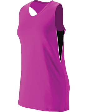 Ladies Inferno Jersey 1290 Power Pink/Black/White